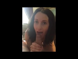 Real teacher blows her student
