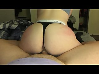 Pawg reverse cowgirl she thick