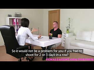 Femaleagent horny stud makes his intentions clear to sexy milf