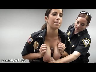 Big black cock rough first time milf cops