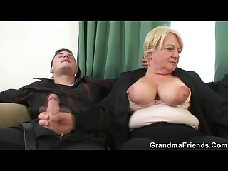 Two guys doing Drunk granny