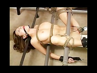 Bondage channel bound and vibrating