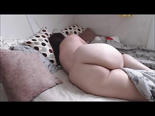Fat chubby girl farts