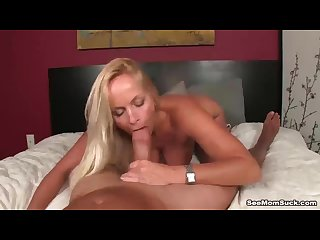 Busty milf pov blowjob