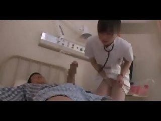 Japanese Hospital nurse fucks 1