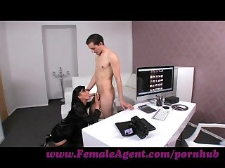 Femaleagent virgin gets expert guidance from milf