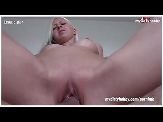 German blonde and young amateurs