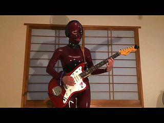 King crimson 21st century schizoid man guitar cover with schizoid latex