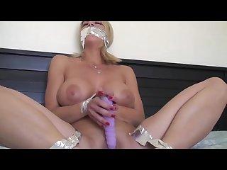 Carissa in bondage