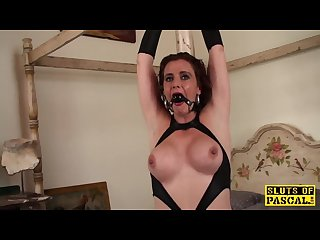 Redhead british sub assfucked and bound