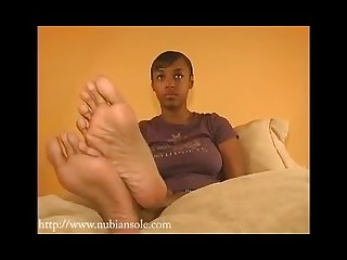 Long ebony soles toenails