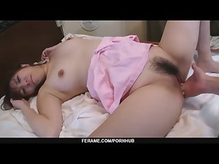 Yuki minami with wet and hairy pussy hardcore fucking more at slurpjp com
