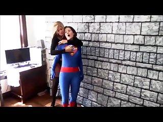 SuperWoman vs the Black Vixen