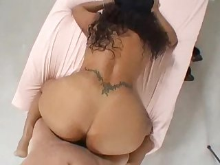 Voluptuous latina shows off her body and gets creampied