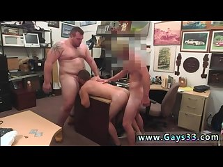 Straight first time stripped and fuck by homo gay guy completes up with