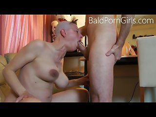 Bald headed slut deep throat humiliation baldporngirls com model