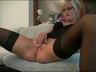 German blonde fucked