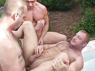 Daddies and Bears outdoors