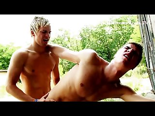 Blond twinks sperm coctail from hammerboys tv