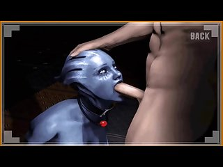 Liara t soni the biggest whore in mass effect sfm pmv hmv 3d
