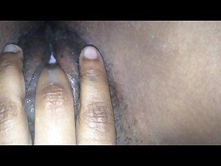 Finger fuck my black wet phat pussy