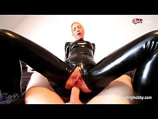 Mydirtyhobby intense latex anal and facial