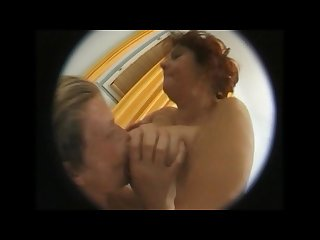 Old lady granny ass fucked by young