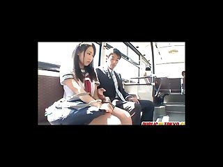 Japanese teen mao kurata fucked on the bus