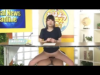 Dirty talking female news anchor 10