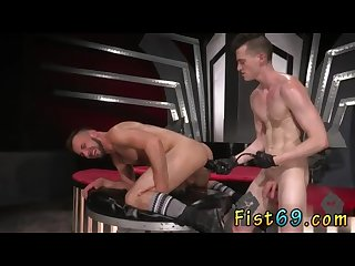 Young gay fist porno first time aiden woods is on his back and screams to