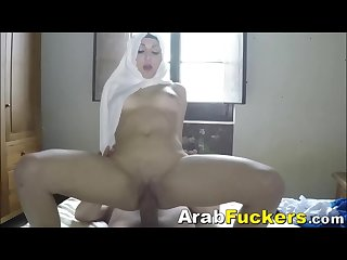Poor Hijab Chick Pays For Motel With Sex