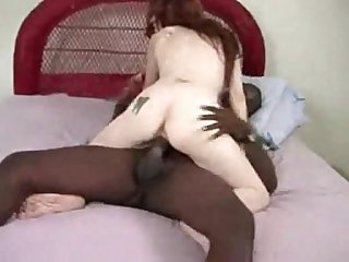 Hubby gets fcce fucked by black cock