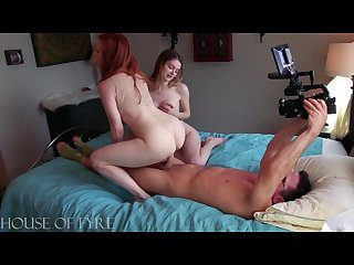 2 milf stuffing themselves bts from houseofyre