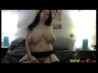 Tasty bbw lilith with massive dd boobs maturbation bbw sexycom