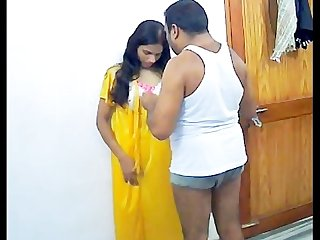 Amateur indian couple fucking in their privacy