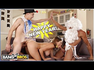 Bangbros new years Eve fuck session with milf krissy lynn
