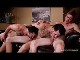 2 boys introduced me to the gay game their bareback dicks