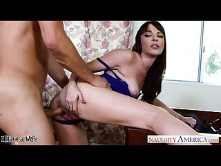 Brunette wife Dana dearmond take cock