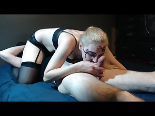Delrawr s smoking fetish and blowjob