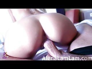 Blowjob and fuck after the shower perfect blonde free version