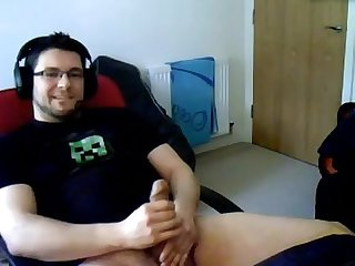 Big uncut cock webcam cum