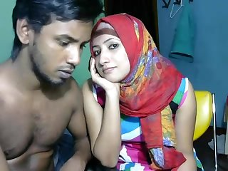 Newly married south indígena casal com extremista quente bebê Webcam mostra 6