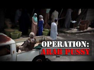 TOUR OF BOOTY - Rag Tag Crew Of American Soldiers Pick Up Some Arab Pussy