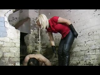 Slave beating part 1