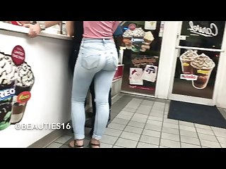 Tight ass in the jeans