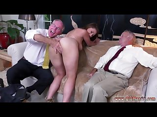 Old man fuck asian girl ivy impresses with her immense orbs and ass