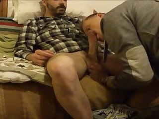 He is straight but he likes good blowjob