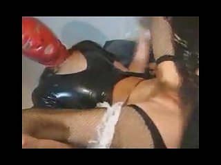 Kinky latex and nutshot compilation