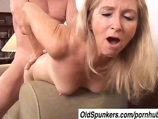Gorgeous mature pornstar annabelle brady fucked