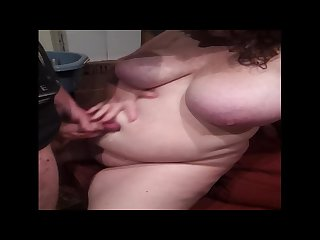 Big tit bbw Belly fuck and cum